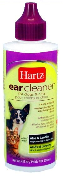 Лосьон для собак и кошек Hartz Ear Cleaner чистка ушей 118 мл.